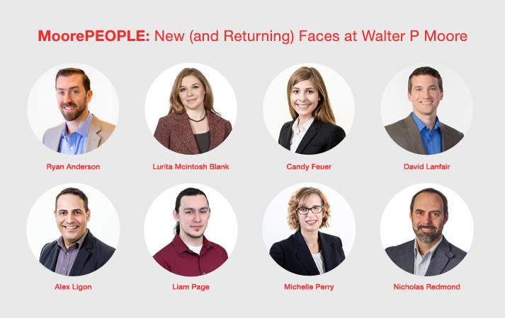 Walter P Moore New Faces April 2017