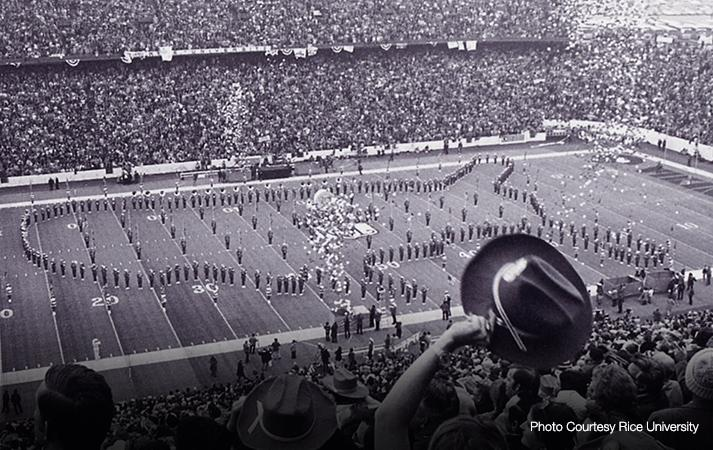 Rice Stadium Super Bowl VIII 1974