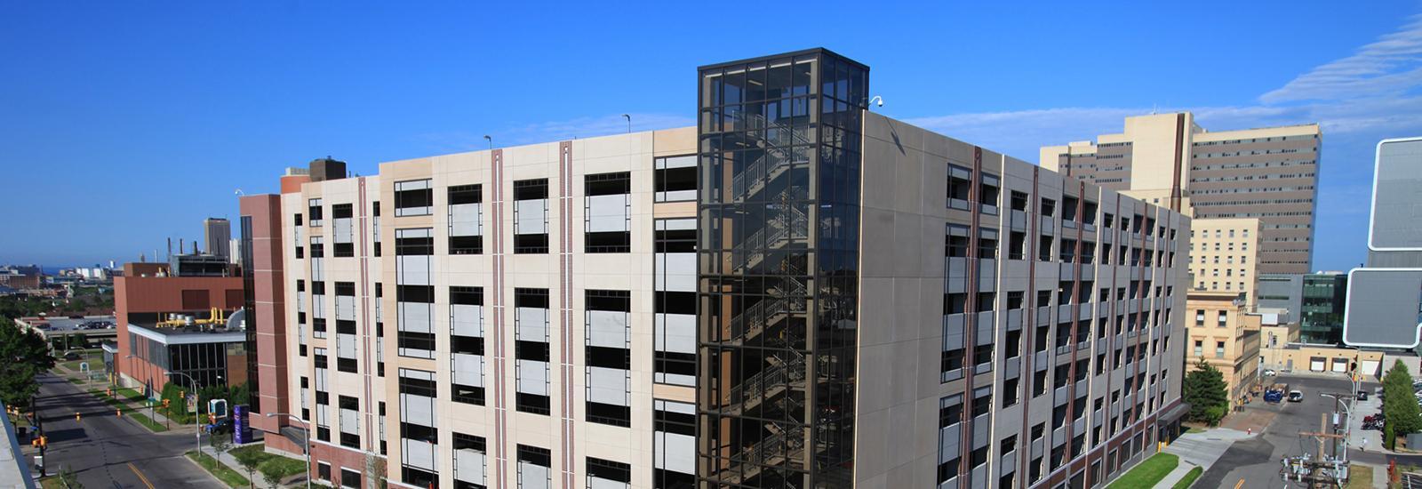 Buffalo Niagra Medical Center Garage