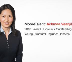 Walter P Moore - Achmaa Vaanjilnorov - 2018 Horvilleur Honoree