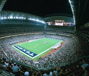 NRG (Reliant) Stadium - roof open