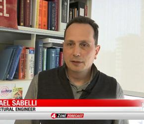 Walter P Moore's Rafael Sabelli talks to KRON 4 San Francisco
