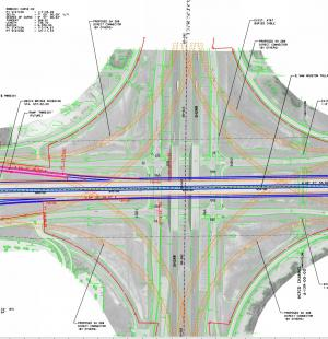 Sam Houston Tollway Southeast Schematic Design