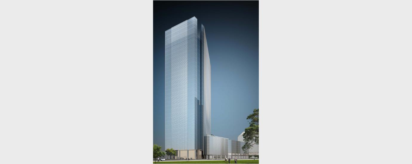 BHP Billiton Tower Exterior