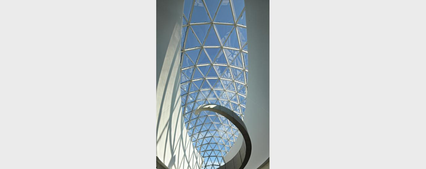 The Dali Museum Dome Ceiling