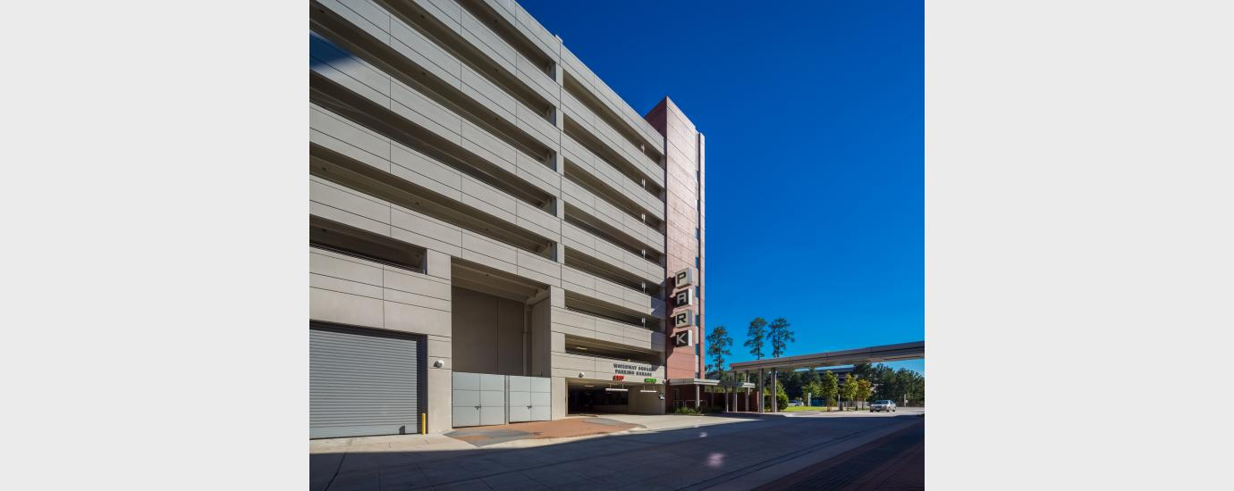 The Woodlands Waterway Square Parking Garage