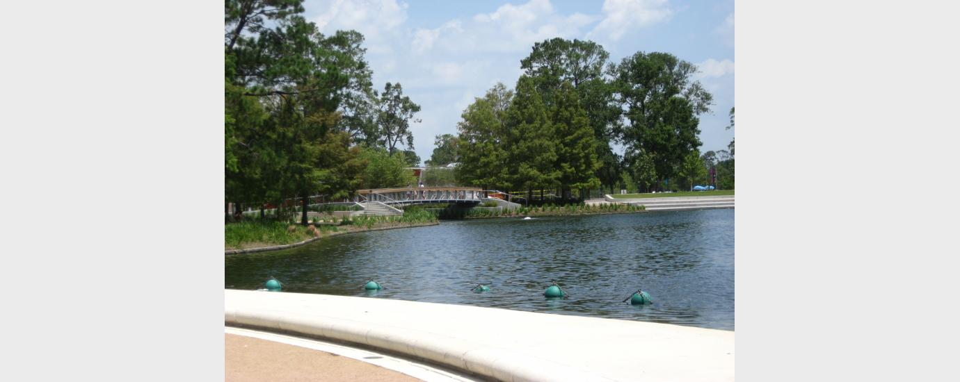 Hermann Park Lake Plaza