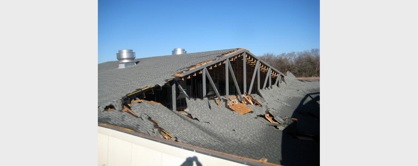 Police Shooting Range Roof Collapse