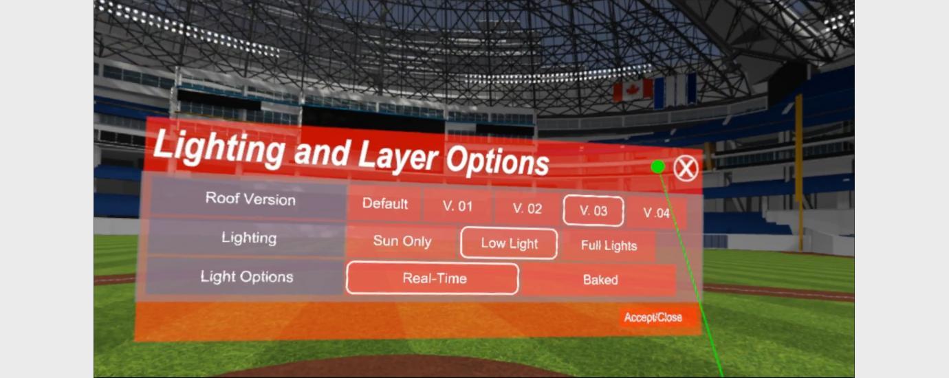 Rogers Centre Virtual Light Study