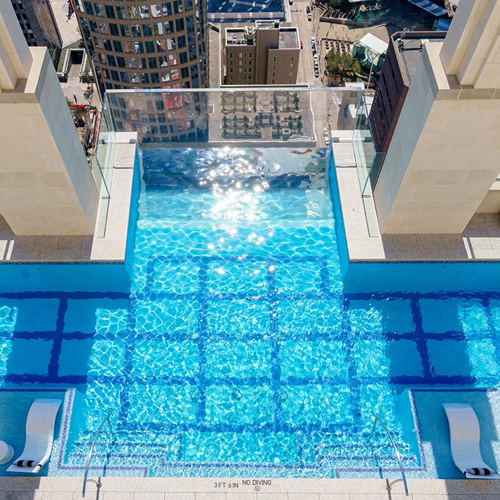 """The Towering Pool That Promises """"Texas- Sized Jitters"""