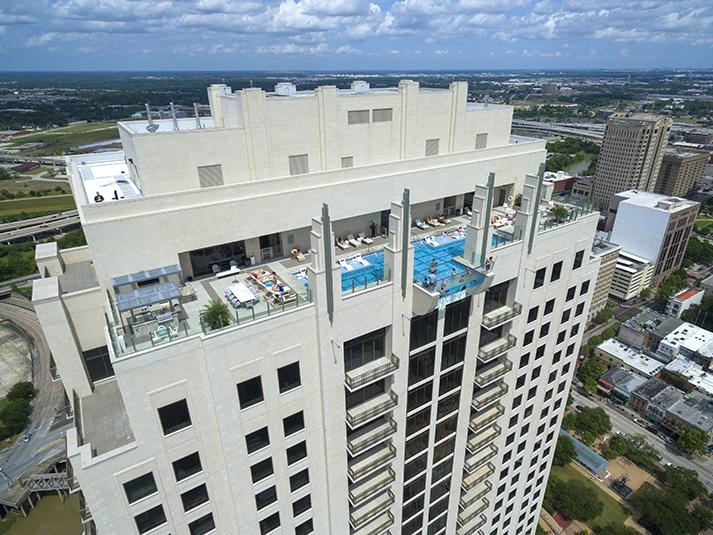 The Towering Pool That Promises Texas Sized Jitters