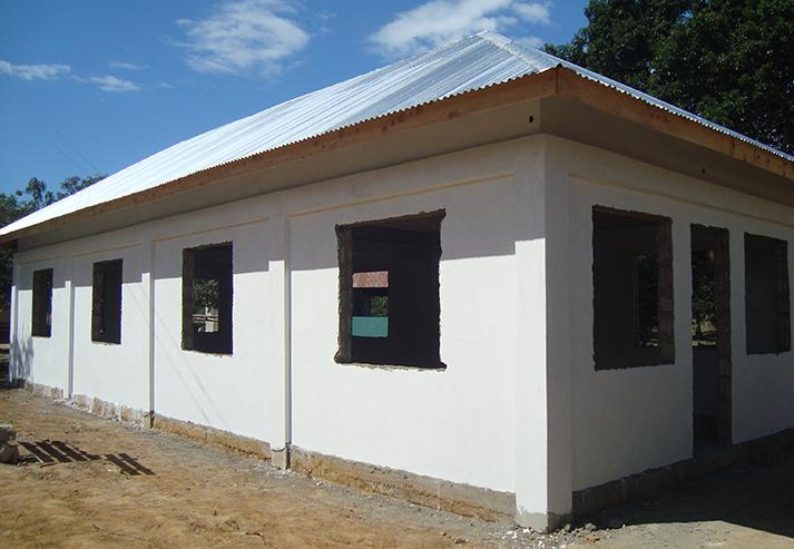 Tanzania Pongwe Primary School Construction Progress
